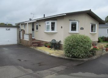 Thumbnail 2 bed mobile/park home for sale in The Poplars, Cudworth Park, Newdigate, Dorking, Surrey