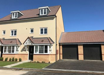 Thumbnail 4 bed semi-detached house for sale in Coronel Close, Swindon