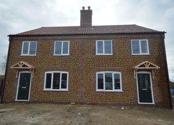 Thumbnail 3 bed semi-detached house for sale in Pentney, Kings Lynn, Norfolk