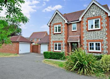 Thumbnail 4 bed detached house for sale in Hollyhock Way, Littlehampton, West Sussex