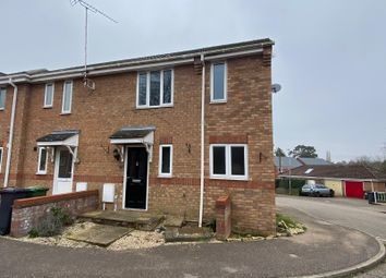 Thumbnail 3 bed semi-detached house for sale in Southgates Drive, Fakenham