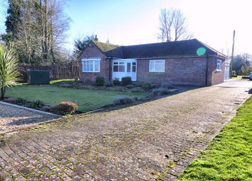 Thumbnail 3 bed detached bungalow for sale in Stow Corner, Stow Bridge, King's Lynn