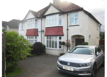 Thumbnail 3 bed semi-detached house for sale in Newport Road, Pontypool
