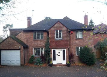 Thumbnail 4 bed detached house to rent in Woodside Road, Sevenoaks