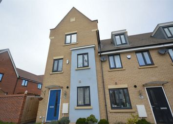 Thumbnail 4 bed end terrace house for sale in Poethlyn Drive, Costessey, Norwich, Norfolk