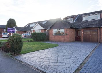 Thumbnail 5 bedroom semi-detached bungalow for sale in Morley Road, Burntwood