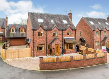 Thumbnail 5 bed detached house for sale in Holly Meadow, Leigh, Stoke-On-Trent