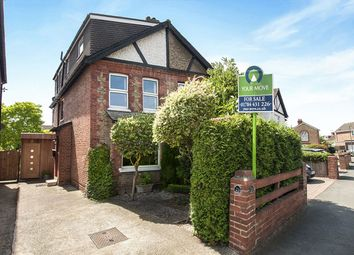 Thumbnail 4 bed semi-detached house for sale in Grange Road, Egham