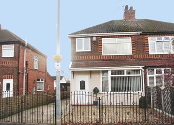 Thumbnail 3 bed semi-detached house for sale in Lincoln Gardens, Scunthorpe