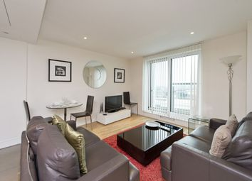Thumbnail 2 bedroom flat to rent in Aquarius House, 15 St George Wharf, London, London