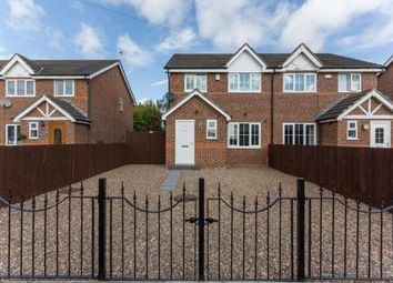 Thumbnail 3 bedroom semi-detached house for sale in High Dewley Burn, Throckley, Newcastle, Tyne And Wear