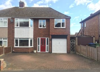 Thumbnail 4 bed semi-detached house for sale in Fleet Crescent, Rugby
