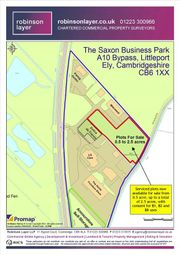 Thumbnail Land for sale in Phase 2 Industrial Land, Saxon Business Park, Littleport, Ely, Cambs