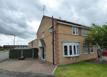 Thumbnail 2 bed semi-detached house for sale in Holme Close, Hatton, Derby, Derbyshire