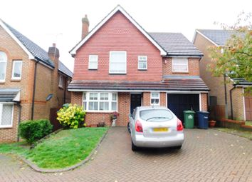 Thumbnail 4 bed detached house to rent in Everett Close, Cheshunt, Waltham Cross
