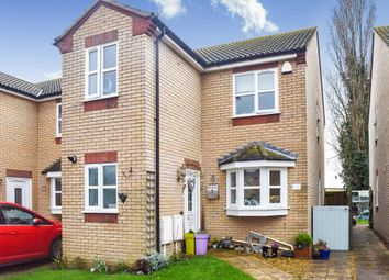 Thumbnail 3 bedroom detached house for sale in East Close, Newborough, Peterborough
