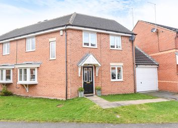 Thumbnail 3 bed semi-detached house for sale in Millbank, Yeadon, Leeds