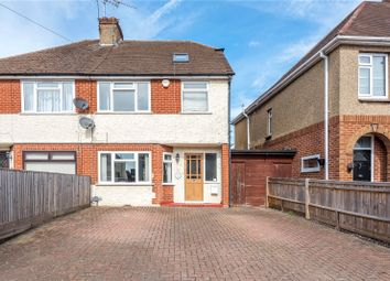 Thumbnail 3 bed semi-detached house for sale in Boxalls Lane, Aldershot, Hampshire
