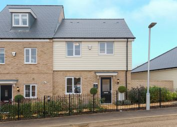 Thumbnail 3 bed semi-detached house for sale in Biggleswade Road, Potton, Sandy
