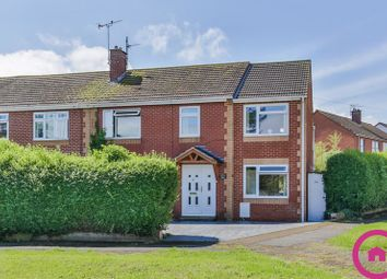 Thumbnail 4 bedroom semi-detached house for sale in Wilkes Avenue, Hucclecote, Gloucester