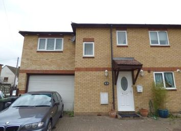 Thumbnail 3 bed semi-detached house for sale in Nazeingbury Close, Nazeing, Waltham Abbey