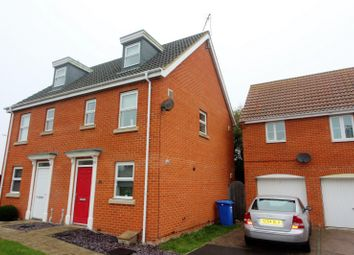 Thumbnail 3 bedroom property to rent in Holy Stone Way, Carlton Colville