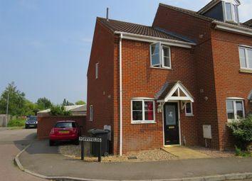 Thumbnail 2 bed end terrace house for sale in Poppyfields, West Lynn, King's Lynn