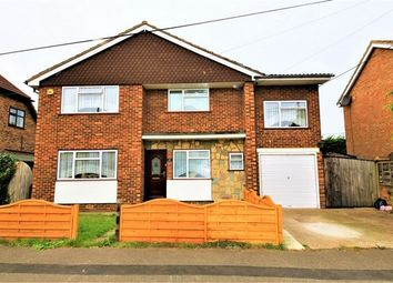 Thumbnail 4 bed detached house for sale in Gafzelle Drive, Canvey Island, Essex