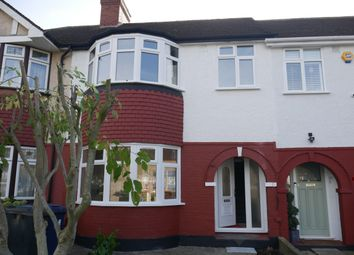 Thumbnail 3 bed terraced house to rent in Whitton Avenue West, Greenford