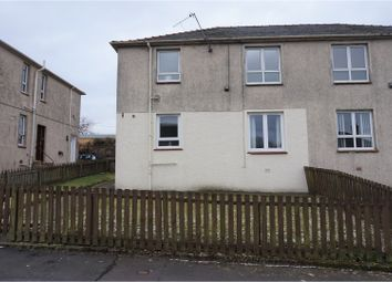 Thumbnail 2 bed flat for sale in Kirkbride Crescent, Crosshill