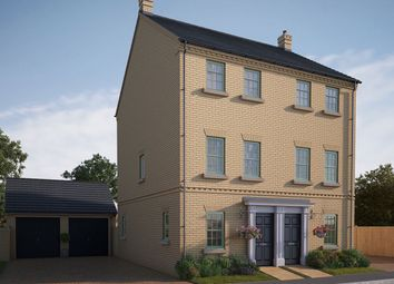 "Thumbnail 3 bed semi-detached house for sale in ""The Greatford"" at Iowa Road, Alconbury, Huntingdon"