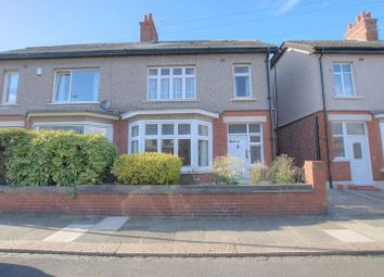 Thumbnail 3 bedroom semi-detached house for sale in Hunter Avenue, Blyth