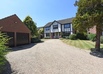 Thumbnail 5 bed detached house for sale in Heathway, East Horsley