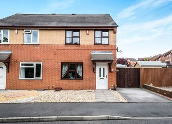 Thumbnail 3 bed semi-detached house for sale in Trevithick Close, Bentilee, Stoke-On-Trent