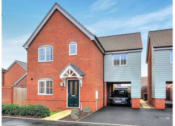 Thumbnail 4 bed detached house for sale in Speckledwood Close, Attleborough