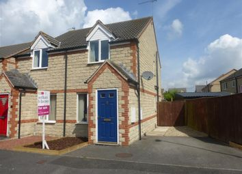 Thumbnail 2 bed semi-detached house for sale in Queens Drive, Crowle, Scunthorpe