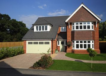 "Thumbnail 5 bed detached house for sale in ""Marlborough"" at Sapphire Road, Swindon"