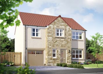 "Thumbnail 4 bed detached house for sale in ""The Carradale"" at East Calder, Livingston"