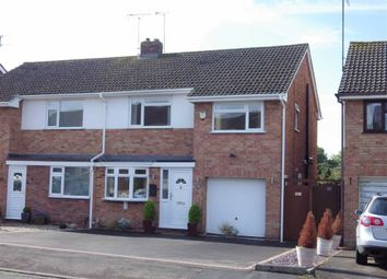 Thumbnail 3 bed semi-detached house for sale in Pinemount Road, Hucclecote, Gloucester