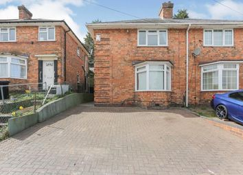 Thumbnail 3 bed semi-detached house for sale in Plumstead Road, Kingstanding, Birmingham
