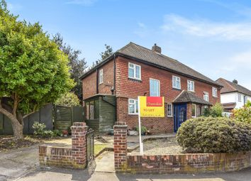 Thumbnail 3 bed semi-detached house to rent in Villiers Close, Surbiton