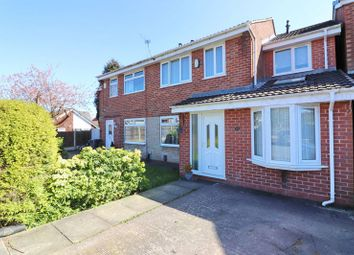 Thumbnail 3 bed semi-detached house for sale in Bankfield Drive, Boothstown, Worsley