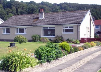 Thumbnail 2 bed semi-detached bungalow for sale in Balloch Crescent, Millport, Isle Of Cumbrae