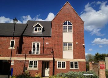 Thumbnail 3 bedroom town house to rent in Village Mews, Burton On Trent, Staffordshire
