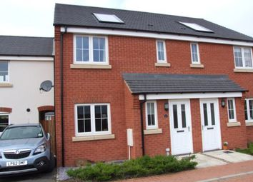 Thumbnail 3 bed town house to rent in Tweed Crescent, Rushden