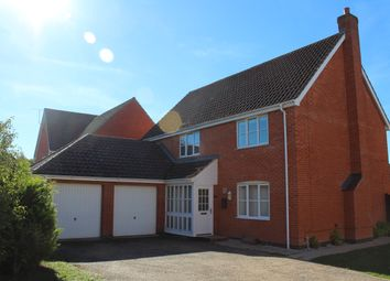 Thumbnail 4 bed detached house to rent in Woodruff Road, Thetford