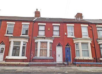 Thumbnail 5 bedroom terraced house for sale in Halsbury Road, Liverpool, Merseyside