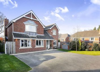 Thumbnail 4 bed detached house for sale in Langley Drive, Macclesfield