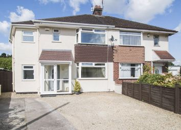 Thumbnail 4 bed semi-detached house for sale in Tennyson Close, Keynsham, Bristol
