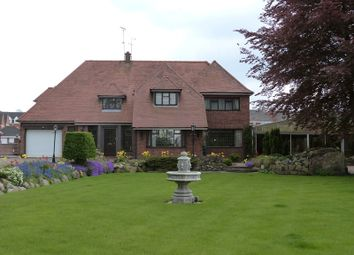Thumbnail 4 bed detached house to rent in Church Lane, Scholar Green